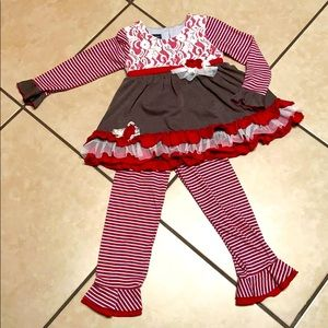 ISobella and Chloe size 5 outfit